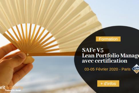 [#Formation] SAFe® 5 Lean Portfolio Management